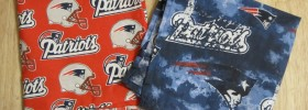 DIY Patriots Cloth Napkins