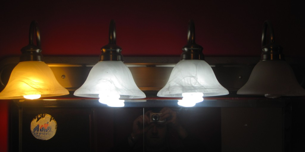 Mismatched, burnt out and too long CFLs