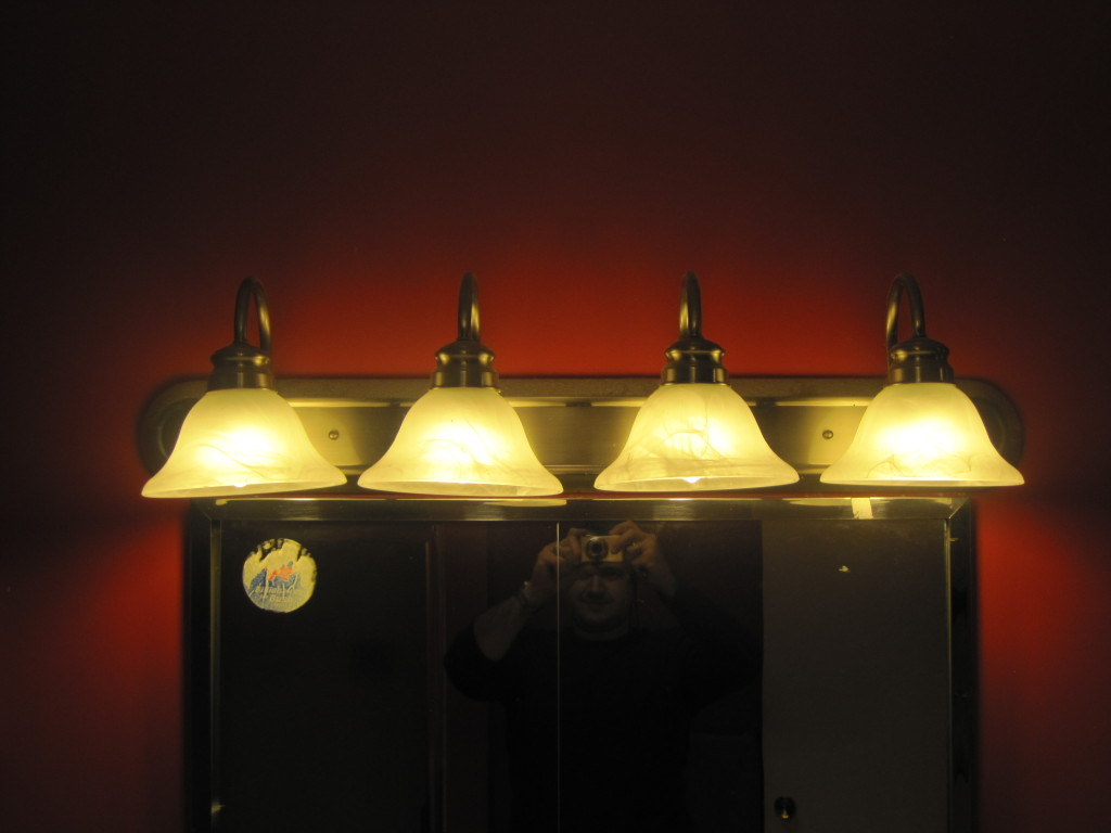 Bathroom fixture with the right CFLs