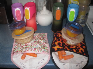 2 Disposable-Free Kids Lunches