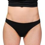 black luna panties bikini front