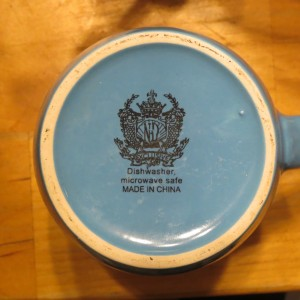 Dishwasher save, made in China logo