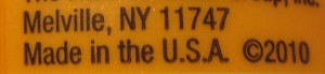 """How many things do you have to look at in your house to find one labeled """"Made in the U.S.A.""""?"""