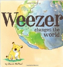 Book cover - Weezer changes the world
