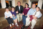 Our family with Ed Markey