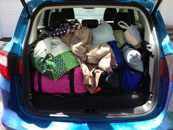Ford C-Max road trip