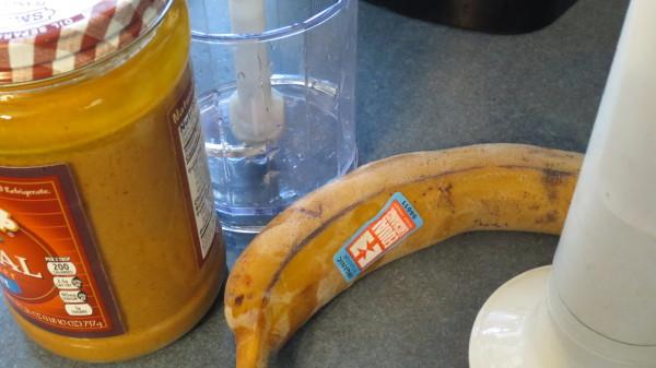 Peanut Banana Dessert Ingredients