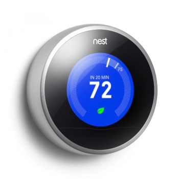 nest gen2 thermostat showing 72 degrees