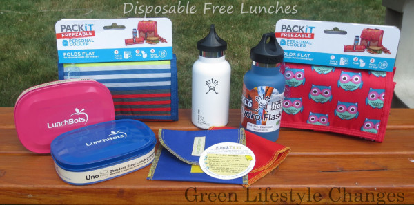 waste free lunch packing containers from Mighty Nest