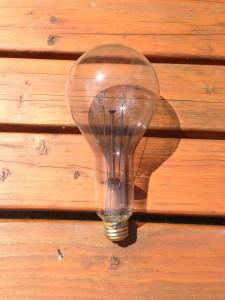 300W incandescent bulb