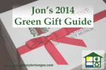 Jon's 2014 Green Gift Guide - www.greenlifestylechanges.com