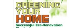 Greening Your Home Cover