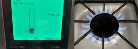 instant pot vs gas cooktop flame